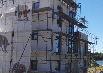 Postavljanje završne fasade