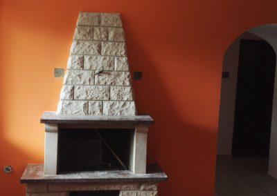 Farbanje i obrada kamina